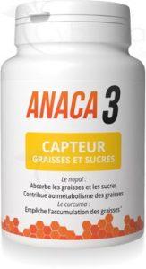 Gelule Anaca3 capteur de graisse