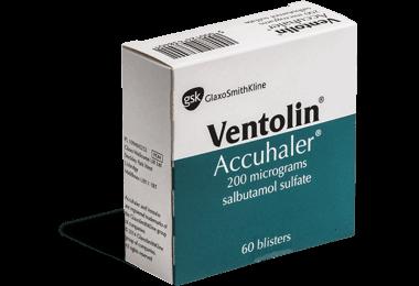 Ventoline médicament