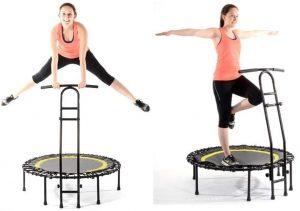 bien utiliser un trampoline de fitness