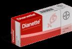 traitement pour l'acné et contraceptif Dianette