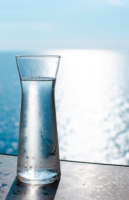carafe eau distillée