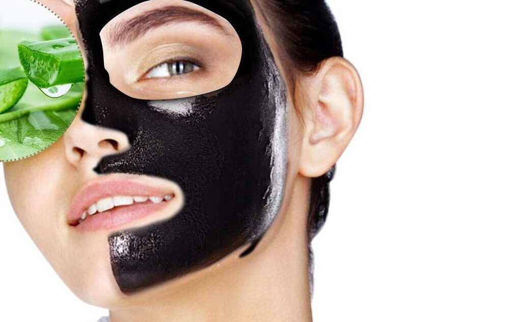 masques charbon
