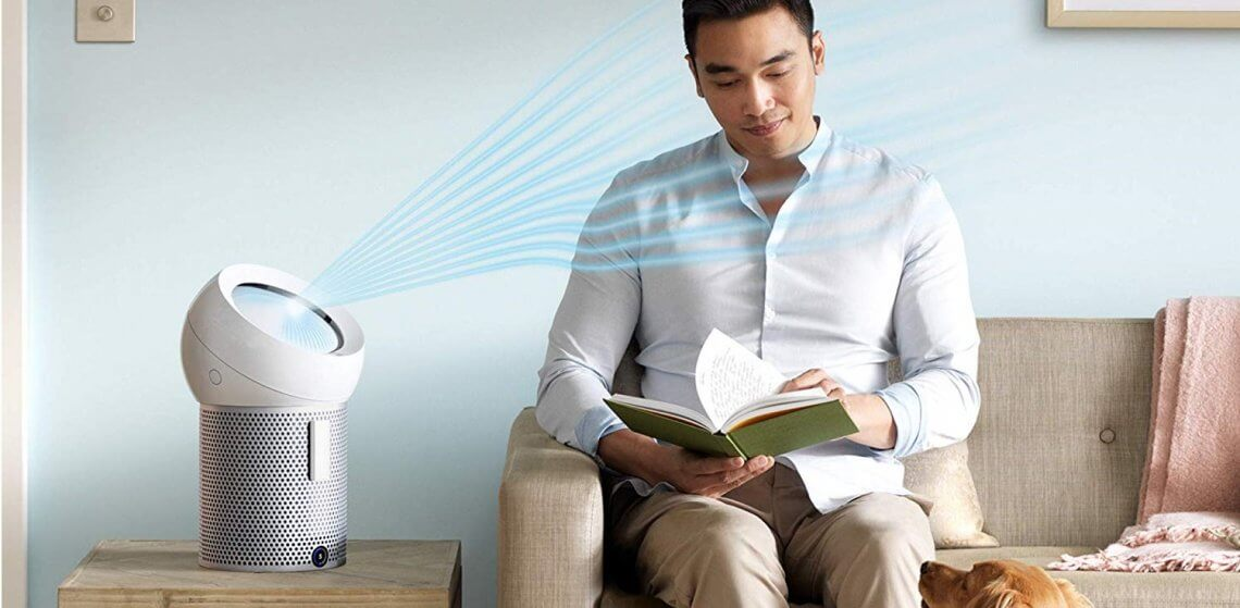 meilleur purificateur d'air Dyson
