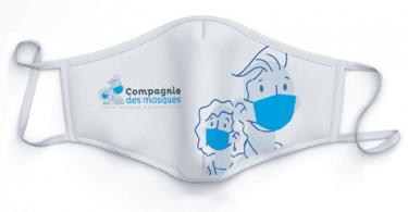 masque alternatif réutilisable et personnalisable