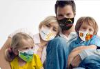 masque réutilisable personnalisé